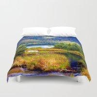 alaska Duvet Covers featuring Alaska by KL Design Solutions