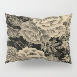 Vintage Floral Abstract Pillow Sham