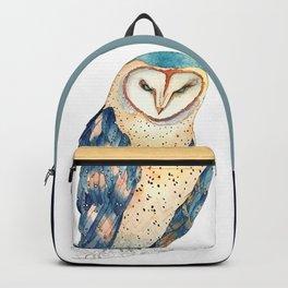 The colourful barn owl Backpack