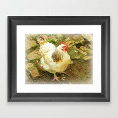 Henny Penny. Framed Art Print