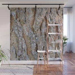 TEXTURES -- Big Cone Pine Bark Wall Mural
