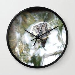 Up Periscope Wall Clock