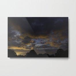 Warm Clouds Metal Print