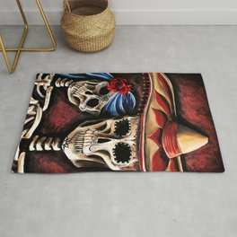 The day of the Dead Rug