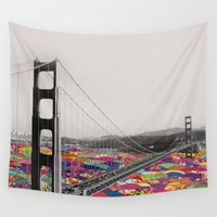 dear Wall Tapestries featuring It's in the Water by Bianca Green