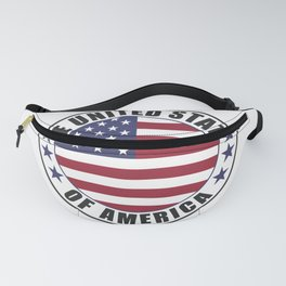 The United States of America - USA Fanny Pack