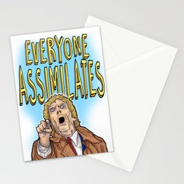 Everyone Assimilates Stationery Cards