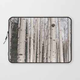 Tall Birch Forest Laptop Sleeve