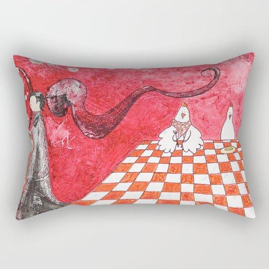 The Tale's Hens Rectangular Pillow