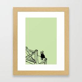 Inner peace - Summer Framed Art Print