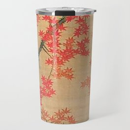 Flowers Japanese U-kiyo Travel Mug