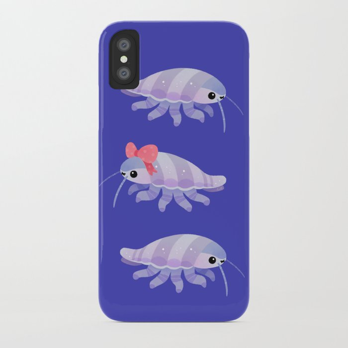 wholesale dealer 7cf44 90599 Ribbon giant isopod iPhone Case by pikaole