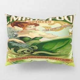 Vintage poster - Tempus Fugit Absinthe Pillow Sham