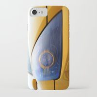 transformer iPhone & iPod Cases featuring The Eye Of A Transformer by VHS Photography