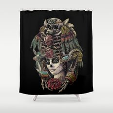 Day of the Dead (Ancient Guardians) Shower Curtain