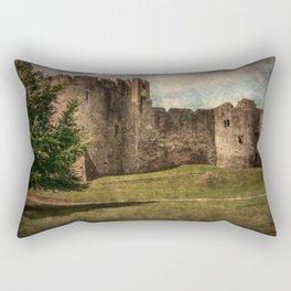 Chepstow Castle Towers Rectangular Pillow