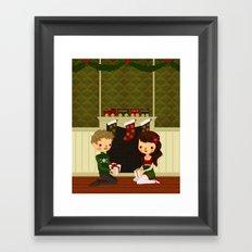 Christmas in June Framed Art Print