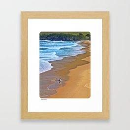 The Surfer Framed Art Print
