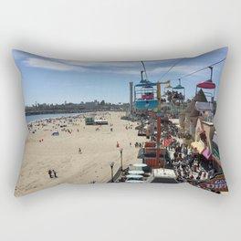 Santa Cruz Beach Boardwalk April 26, 2015 Rectangular Pillow
