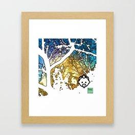 Snowburst by JC LOGAN 4 SB Framed Art Print
