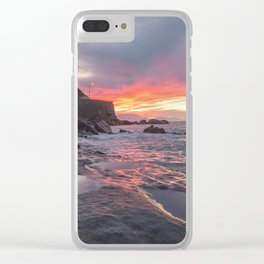 Natural show of Sicily Clear iPhone Case