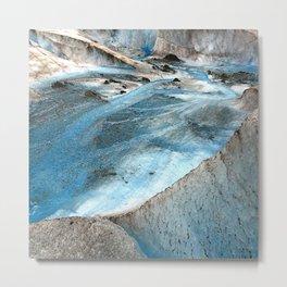 Alaska Blue Ice Glacier Photo Safari Adventure Metal Print