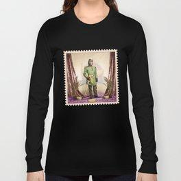 General Simian of the Glorious Banana Republic Long Sleeve T-shirt