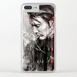 MM speed painting Clear iPhone Case