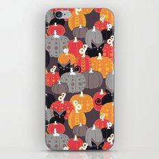 Find the Halloween Black Cat iPhone Skin