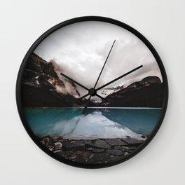 Lake Louise Mood Wall Clock