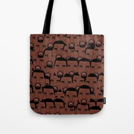 KanyeWest Faces Tote Bag