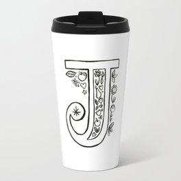 j is for Travel Mug