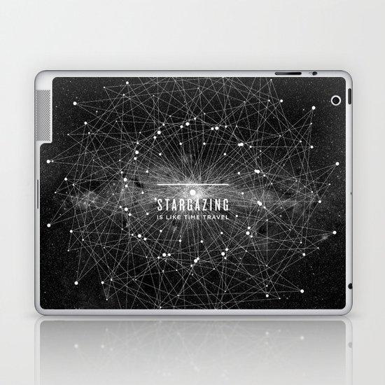 STARGAZING IS LIKE TIME TRAVEL Laptop & iPad Skin