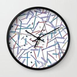 Stick Picnic Wall Clock