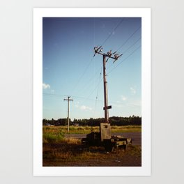 Rural Power Art Print