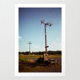 Rural Power Art Print