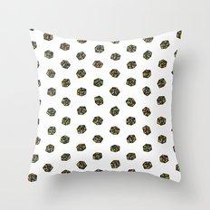 Rubik's Cube Pattern Throw Pillow