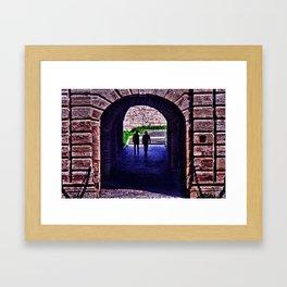 Fortress Kalemgdan Gate Framed Art Print