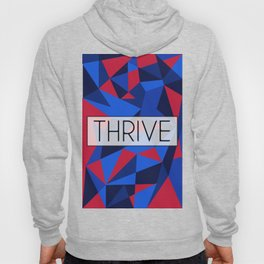 Thrive Typography Pattern Hoody