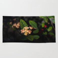 Sweet flowers Beach Towel