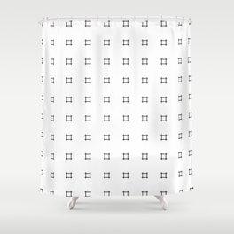 Crosshatch Shower Curtain