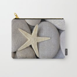 Starfish on pebble Carry-All Pouch