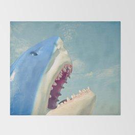 Shark! Throw Blanket
