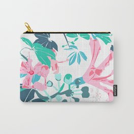 Botanical contrast Carry-All Pouch