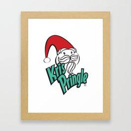 Kris Pringle Framed Art Print