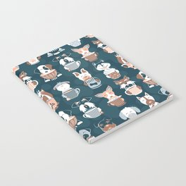 Doggie Coffee and Tea Time II Notebook