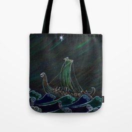 Starlight Voyagers Tote Bag