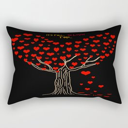 It's Fall... In love... Time... Rectangular Pillow