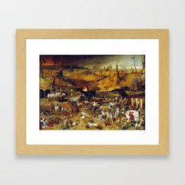 Bruegel the Elder The Triumph of Death Framed Art Print