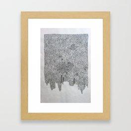 cota de malla - cote de mailles - mail (armour) Framed Art Print